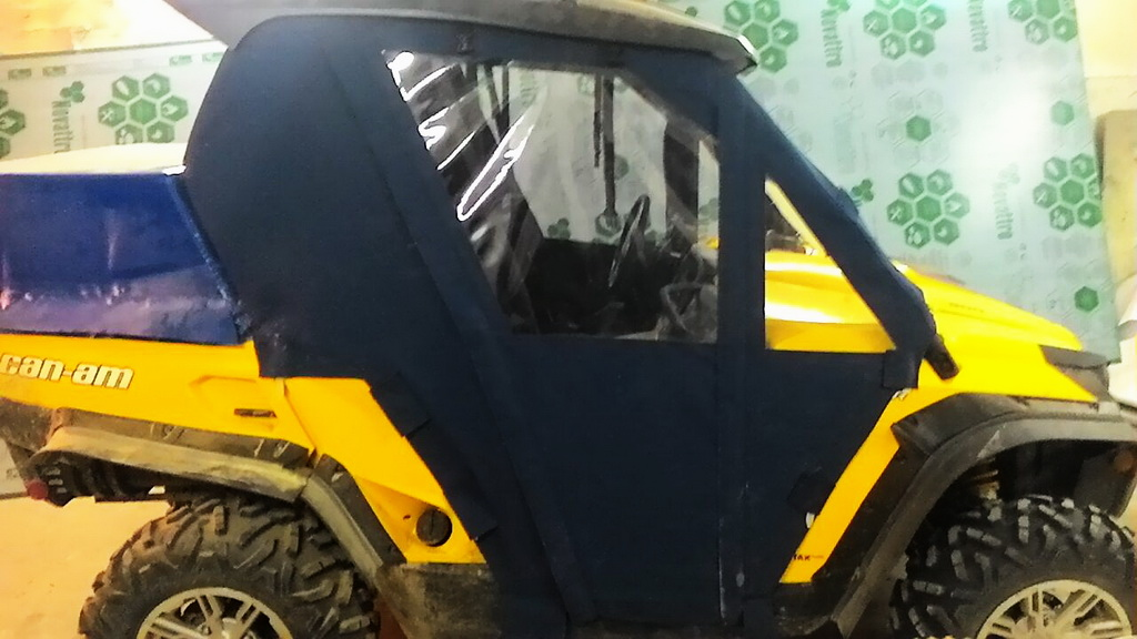 Пошив ходового тента на квадроцикл Can-am 1000 xt в Новосибирске